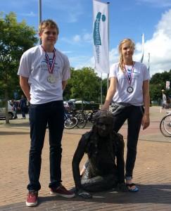 Medailles Willem en Maryse