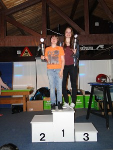DSC01709 Clubkampioenen Bregje en Jelle